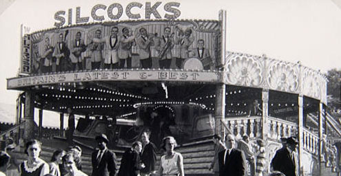 Jack Leeson photograph courtesy of the National fairground archive.