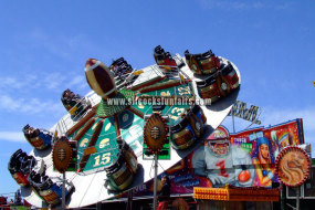 Image of the Superbowl funfair ride